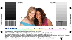 Foto: burosch UltraHD Testbild